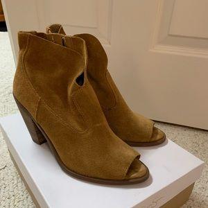 Open-toe booties